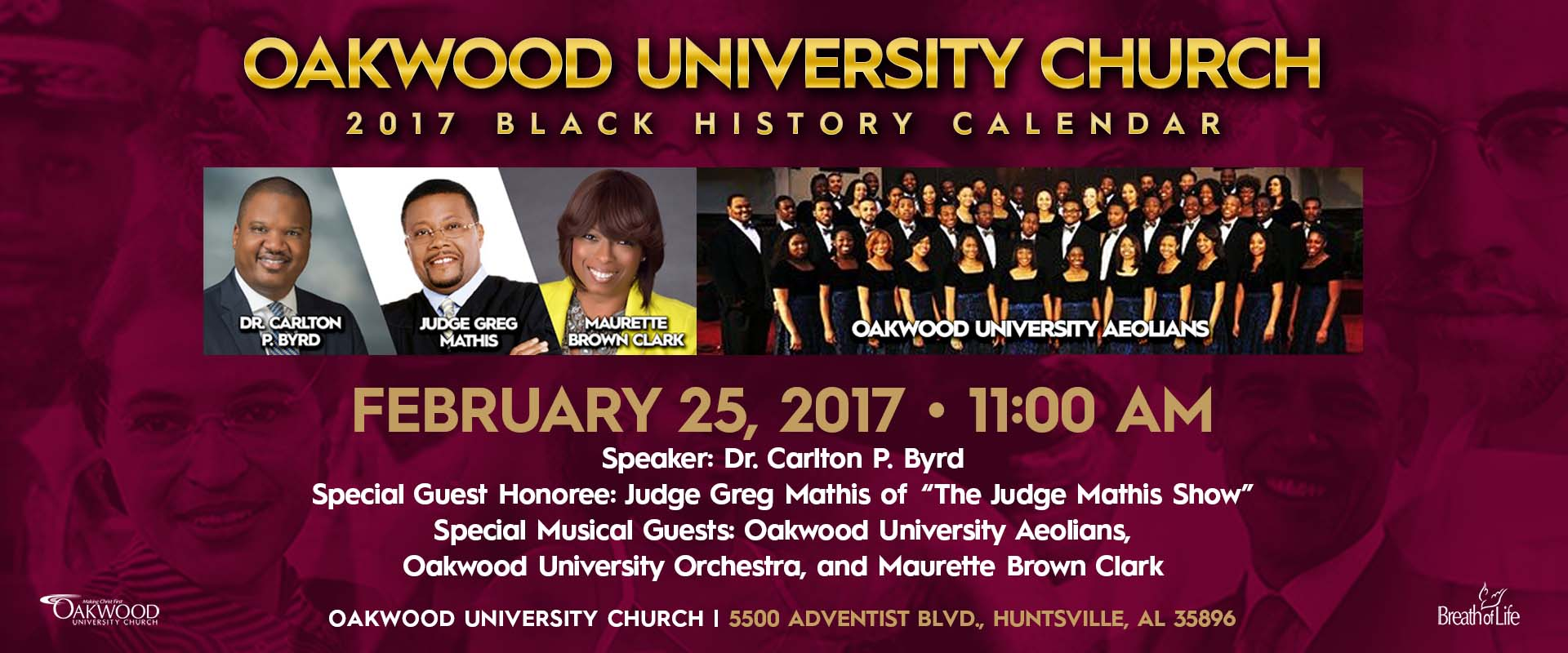 Judge Mathis Honored - Breath of Life Ministries